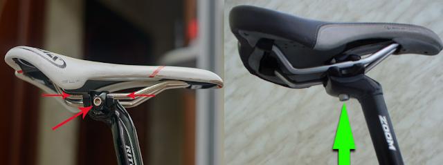 настройка седла велосипеда