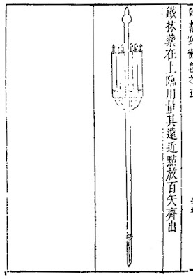 Ming Chinese arrow fire spear