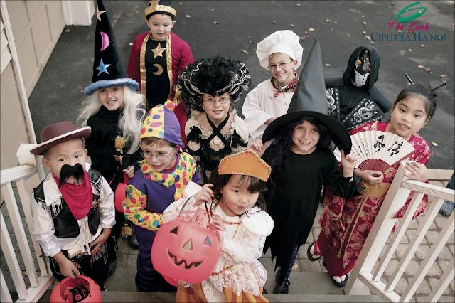 Lễ hội hóa trang Halloween Ciputra
