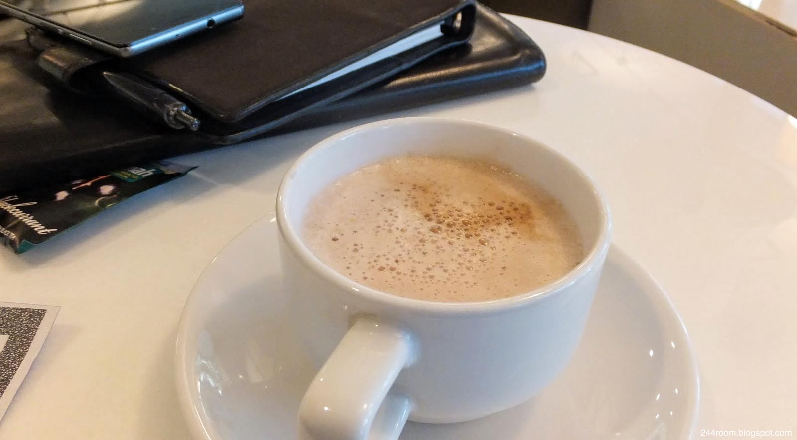 スワンナプームCIPラウンジF-coffee
