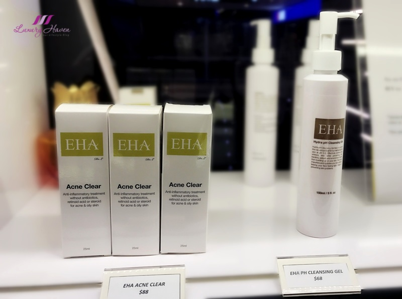 eha acne clear ph cleansing gel