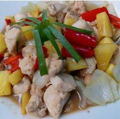 Resep Makanan - Daging Ayam Fillet Nanas Madu