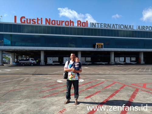 Saat Liburan di Bali