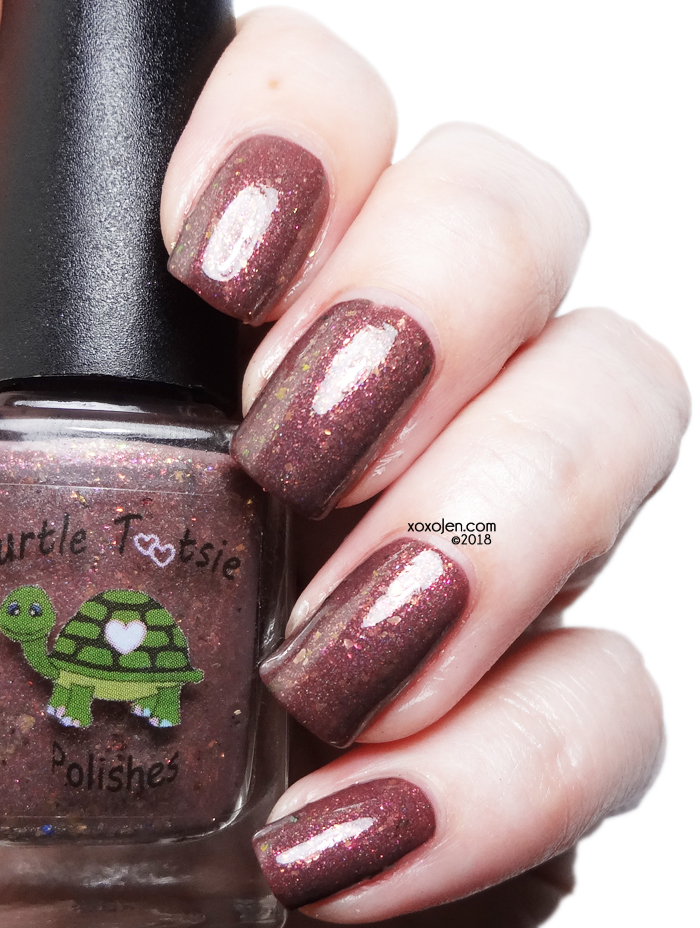 xoxoJen's swatch of Turtle Tootsie Polishes Get Me My Boots