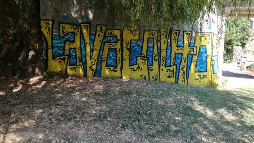 Lavacolhos grafiti