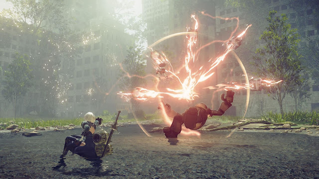 NieR Automata Day One Edition PC Free Download Screenshot 4