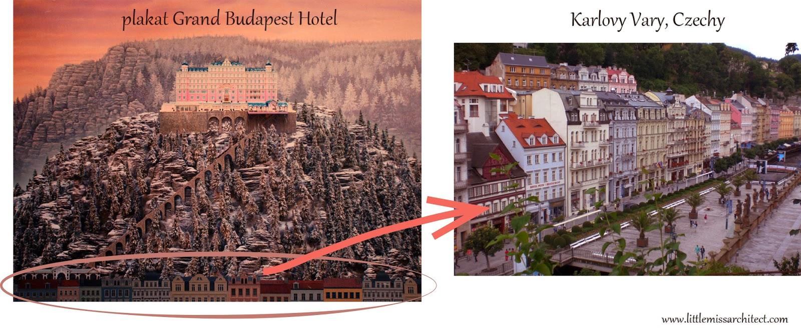 Grand Budapest Hotel, Karlovy Vary, Czechy, inspiracja