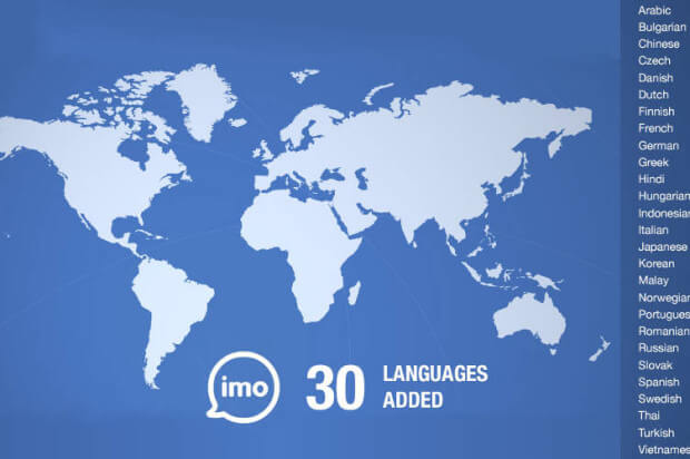 Languages for imo for pc