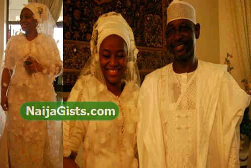aishat babangida wedding divorce