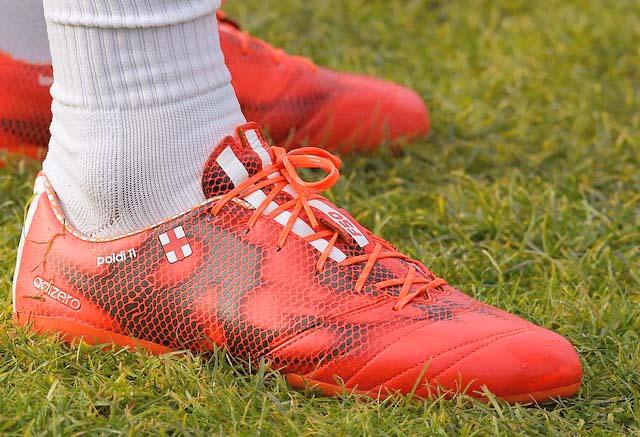 Lukas Podolski Reveals Next-Gen Adidas F50 Adizero Leather Boots ... 482392c46