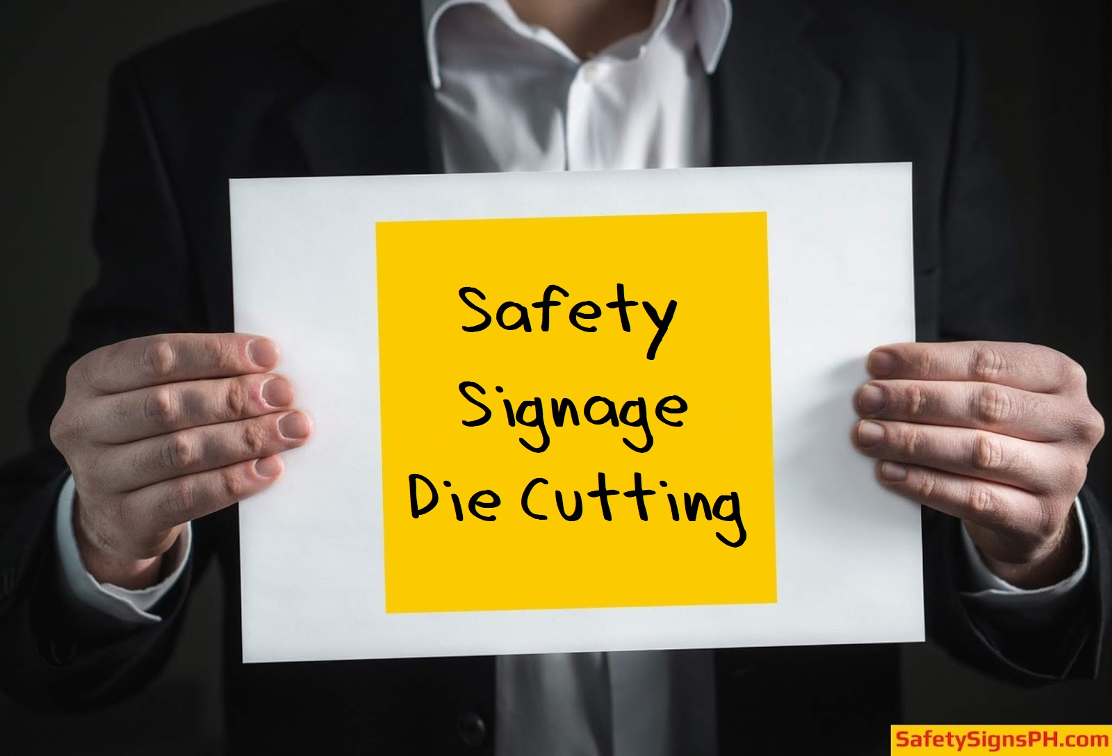 Safety Signage Die Cutting Services Philippines