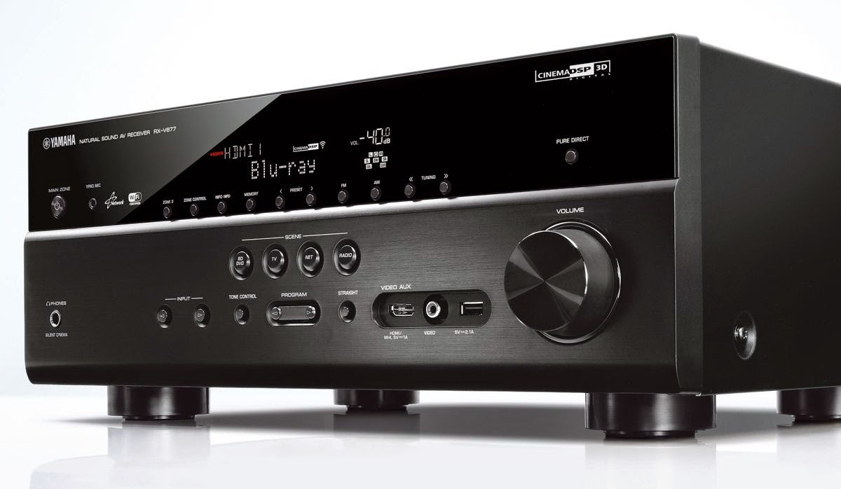 yamaha rx v477 av receiver audiobaza. Black Bedroom Furniture Sets. Home Design Ideas