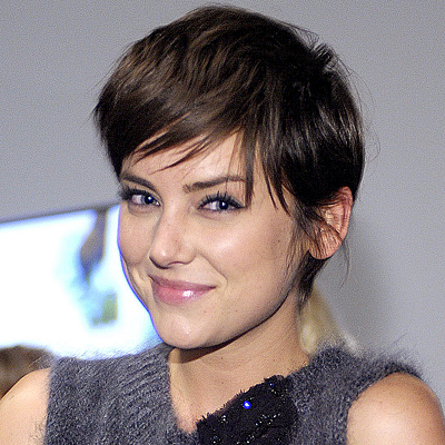 Celebrity Hairstyles Jessica Stroup Very Short