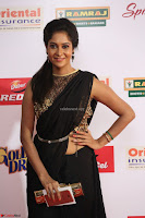 Sindhu looks fabulous in Black Saree designer choli at Mirchi Music Awards South 2017 ~  Exclusive Celebrities Galleries 030.JPG