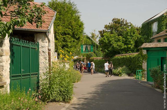 Giverny viaje Normandia turismo Francia