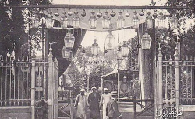 من مظاهر الاحتفال برمضان زمان فى مصر