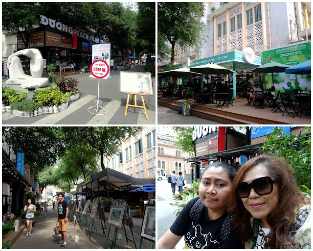 Book Cafe Street - Nguyan Van Binh in Ho Chi Minh City, Vietnam
