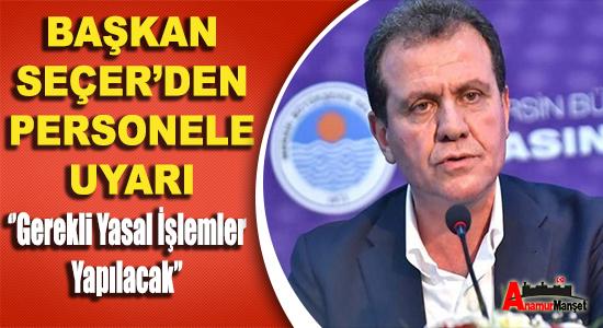 Anamur Haber, Mersin Büyük Şehir Belediyesi, Vahap Seçer,