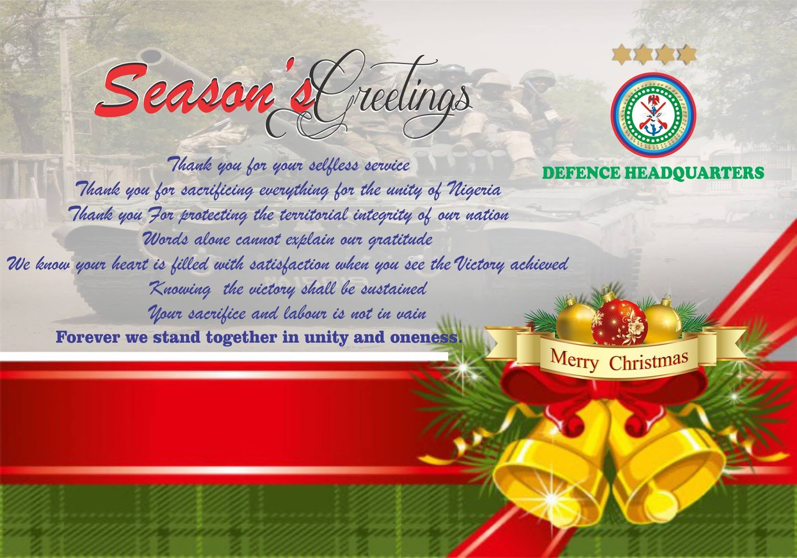 Welcome to ireportinglive seasons greetings to all officers and men of kristyandbryce Image collections