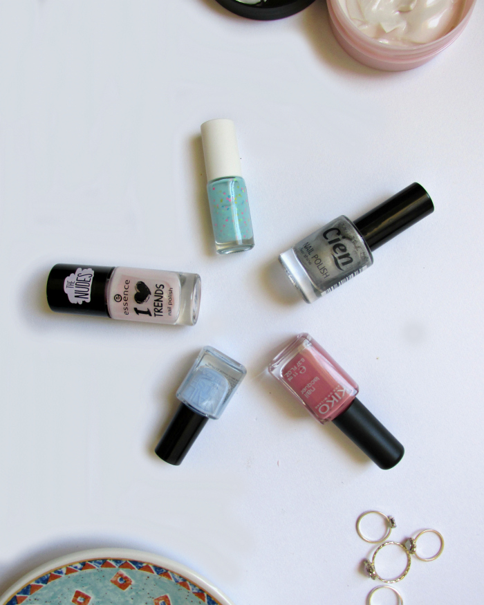 top 5 summer polishes, Essence, H&M, Kiko, Cien, Bershka