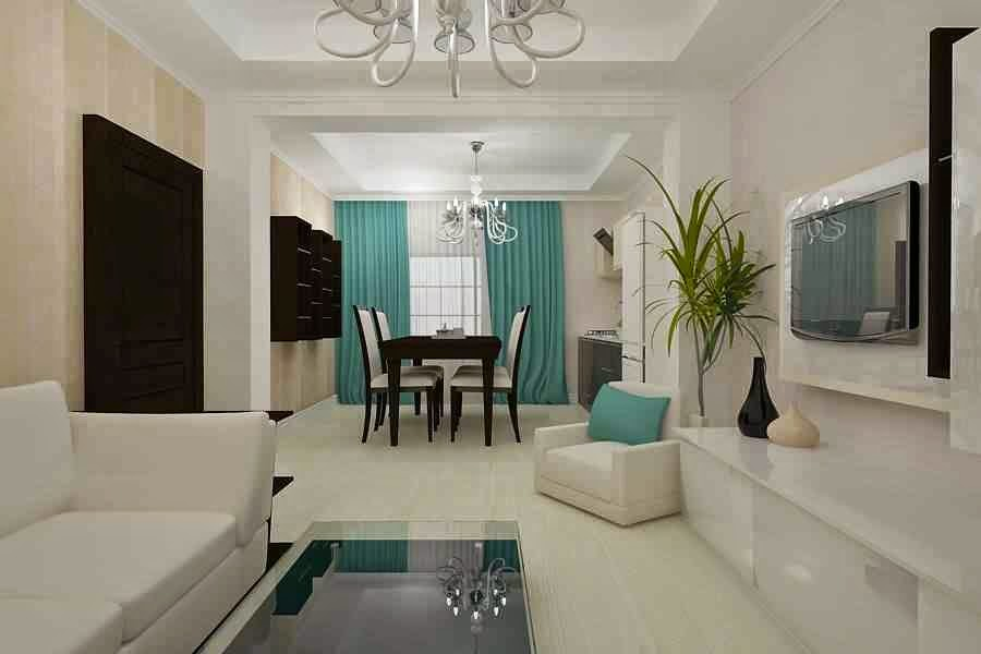 design nterior living vila