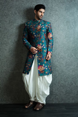 Dhoti Pants with Ethnic jacket