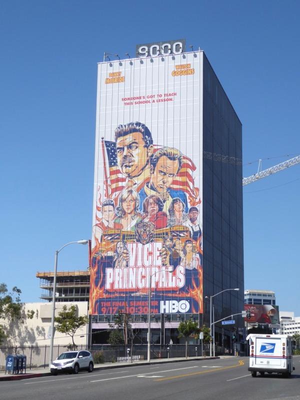 Vice Principals Final Semester billboard