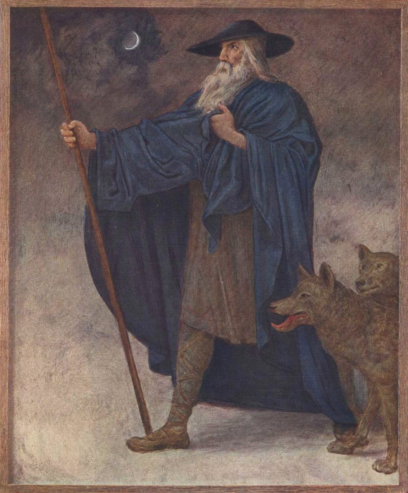the norse mythology blog norsemyth org the wanderer an old