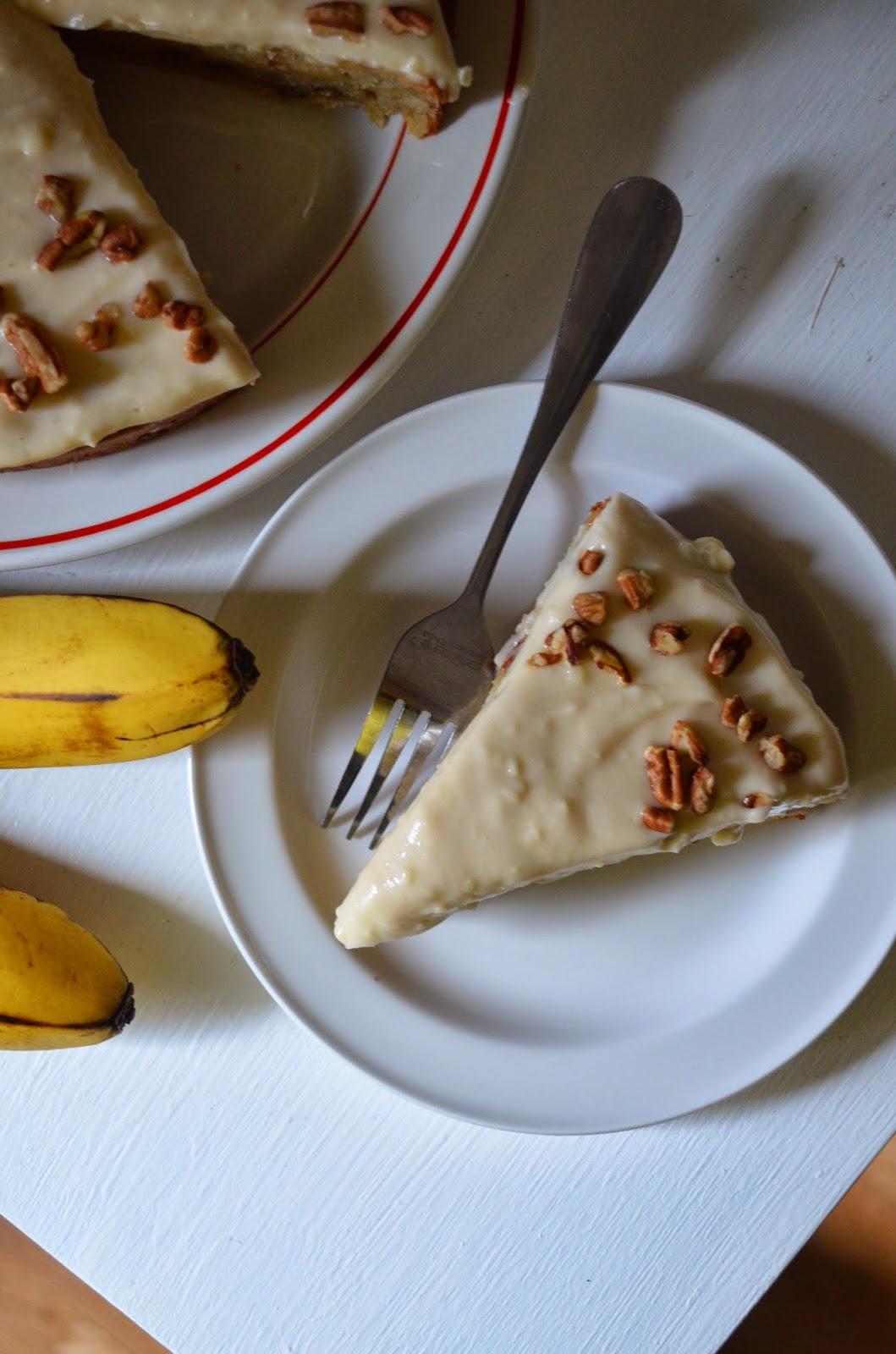 Banana Cake Without Electric Mixer