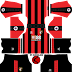 A.F.C. Bournemouth Kits 2017/2018 - Dream League Soccer and FTS15