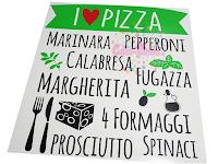 vinilo decorativo cocina pizza