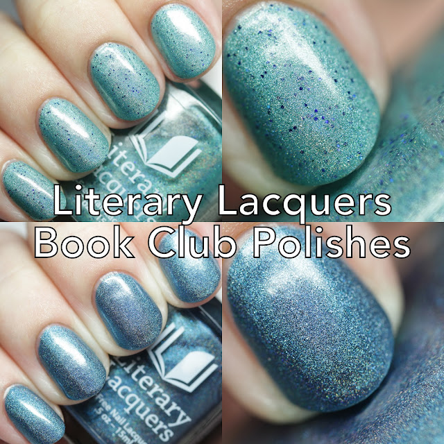 Literary Lacquers Book Club Polishes