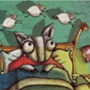 Historia infantil mp3. Murciélago acostado contando ovejas