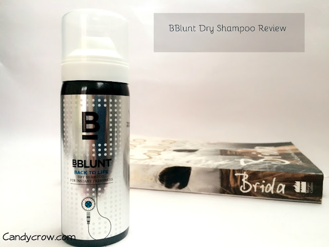 BBlunt Back to Life Dry Shampoo Review
