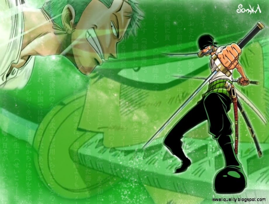 One Piece Zoro Wallpaper Wallpapers Quality
