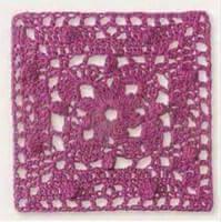 Patrón #1231: Carpetita a Crochet