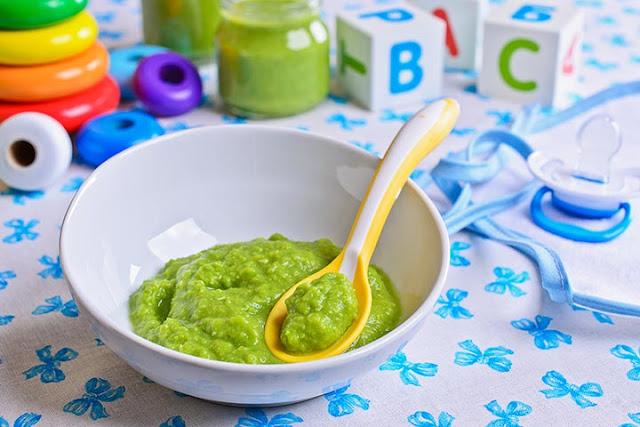 Piure de spanac pentru copii si bebelusi
