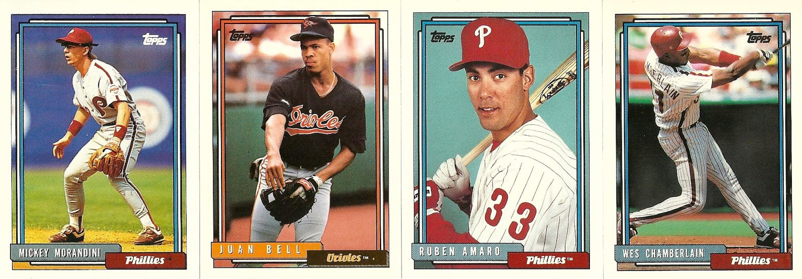 The Phillies Room 1992 Topps Phillies