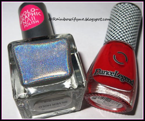 Urban Outfitters: Silver Holo and Dance Legend Spot it: Red