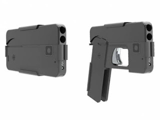 THE NEWLY INVENTED SMARTPHONE SHAPED GUN
