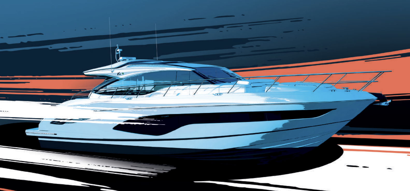 Bsur Brings Colorful Fresh Approach In Latest Princess Yachts