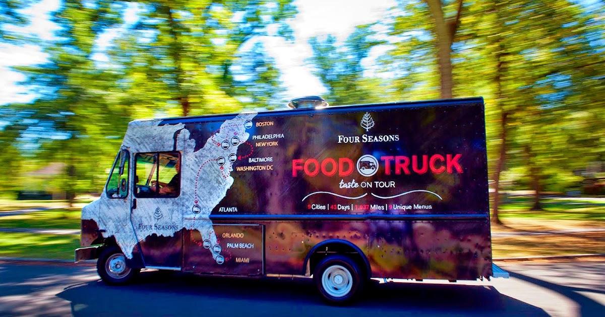Baltimore Food Truck Map