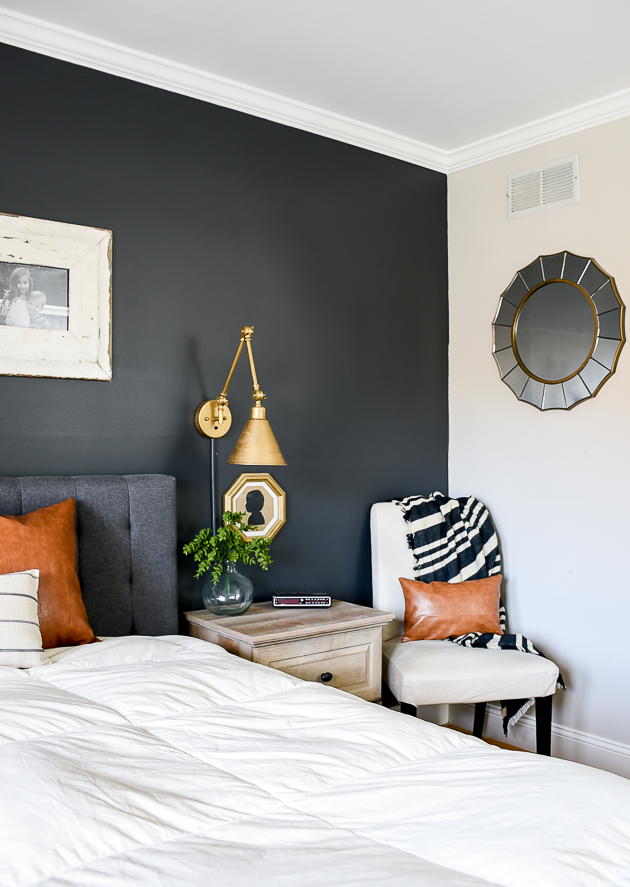 dark and moody modern farmhouse bedroom update little on modern farmhouse master bedroom ideas id=33681