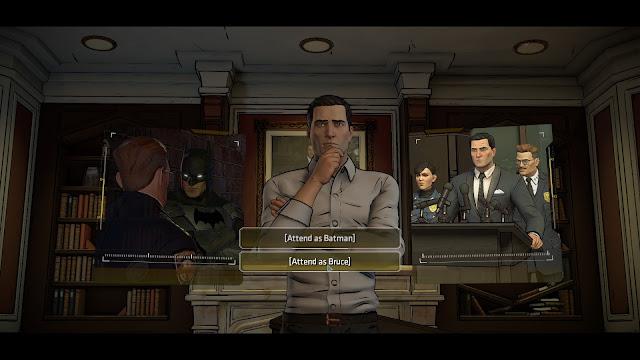 Screenshot from Batman - The Telltale Series