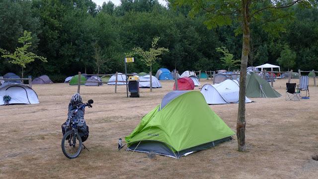 Tour de la Belgique en vélo,Camping de Gand