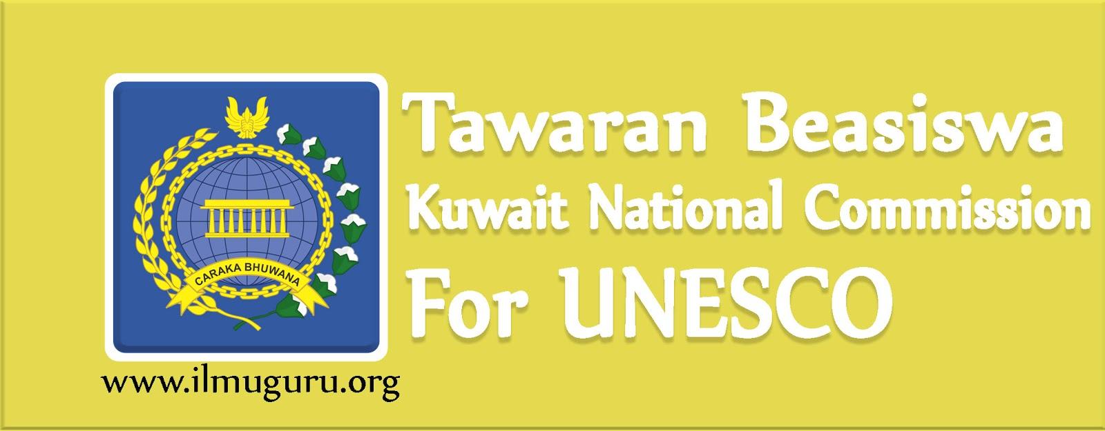 Beasiswa Kuwait dari Unesco