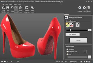 تحميل برنامج تغيير خلفية الصور الى اللون الابيض Photo Background Remover