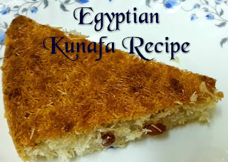 Egyptian Kunafa Recipe