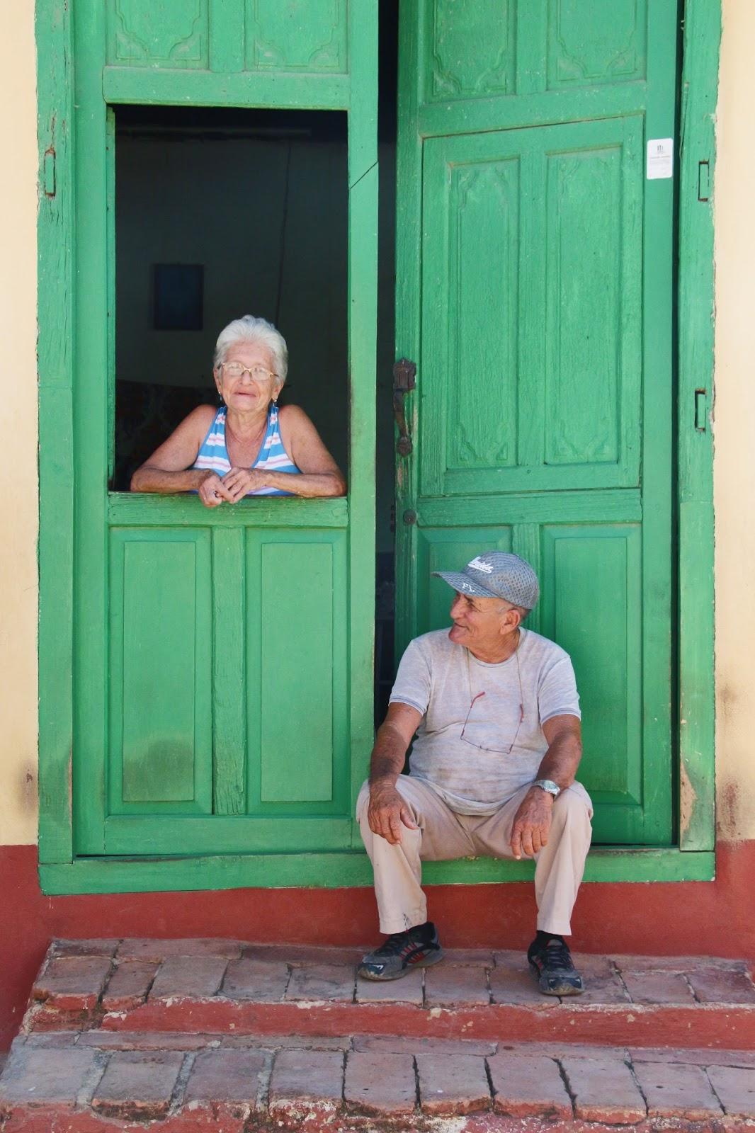 Couple de Cubains à Trinidad
