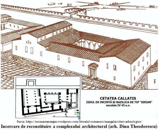 Incercare de reconsituire cetatea Callatis (arh Dinu Theodorescu)